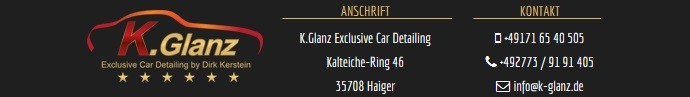 K.Glanz Exclusive Car Detailing